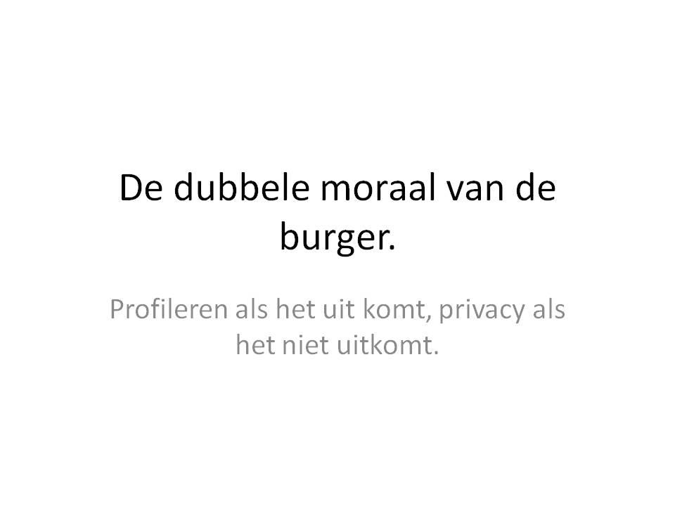 Presentatie voor ICT Delta 2010 over De Moraal.